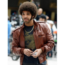 Anchorman 2 The Legend Continues Brown Leather Jacket