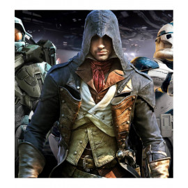 Assassin's Creed Unity Gaming Leather Costume