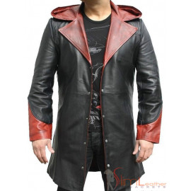 Arrow Devil May Cry Dante Long Leather coat