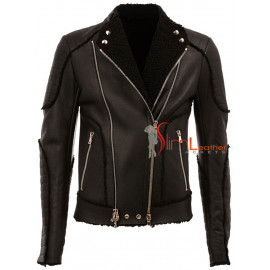 Classic Motorcycles Leather Jacket For Sale
