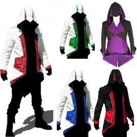 Assassins Creed III Conner  Kenway Video Game PU Jacket