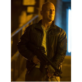 A Good Day To Die Hard John Mcclane Bruce Willis Leather Jacket