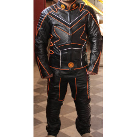 X Men United Movie Motorcycle leather Suit